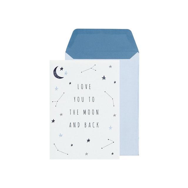 Kikki.K Greeting Card To The Moon: Sweet