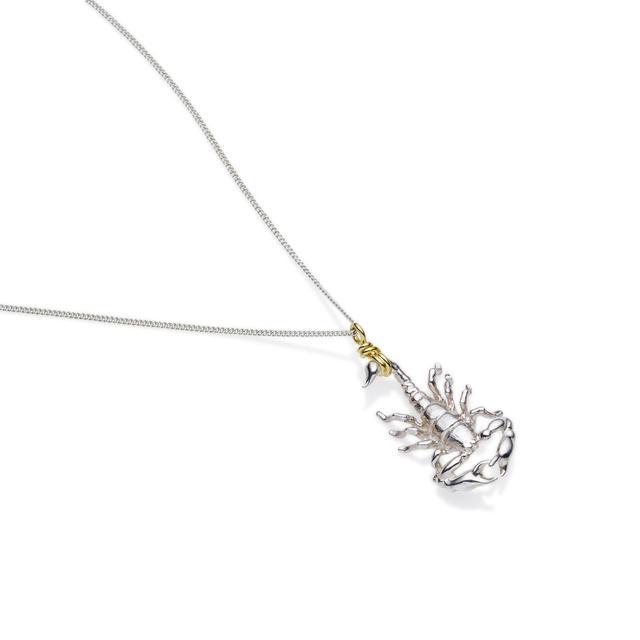 Pushmataaha Scorpio Necklace
