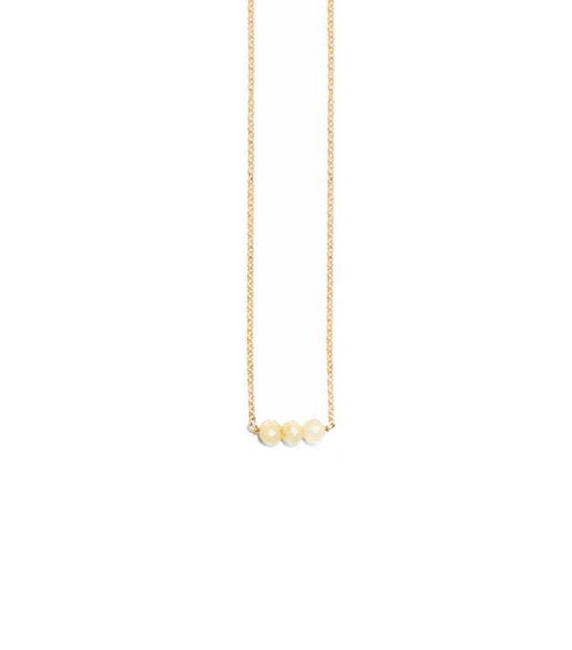 Petit Grand Crystal Drop Necklace