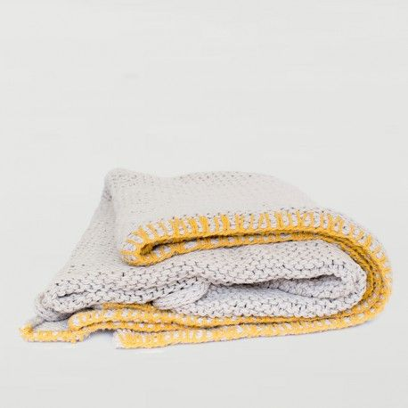Sophie Striped Towel in Yellow