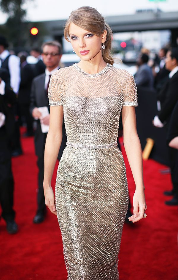 Taylor Swift silver dress
