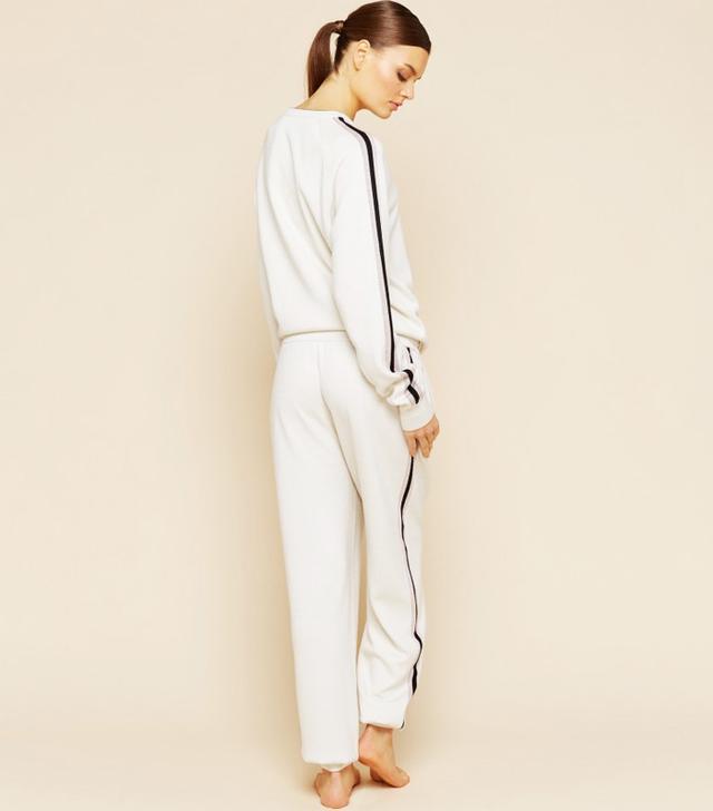 Olivia Von Halle Missy Moscow Silk-Cashmere Tracksuit