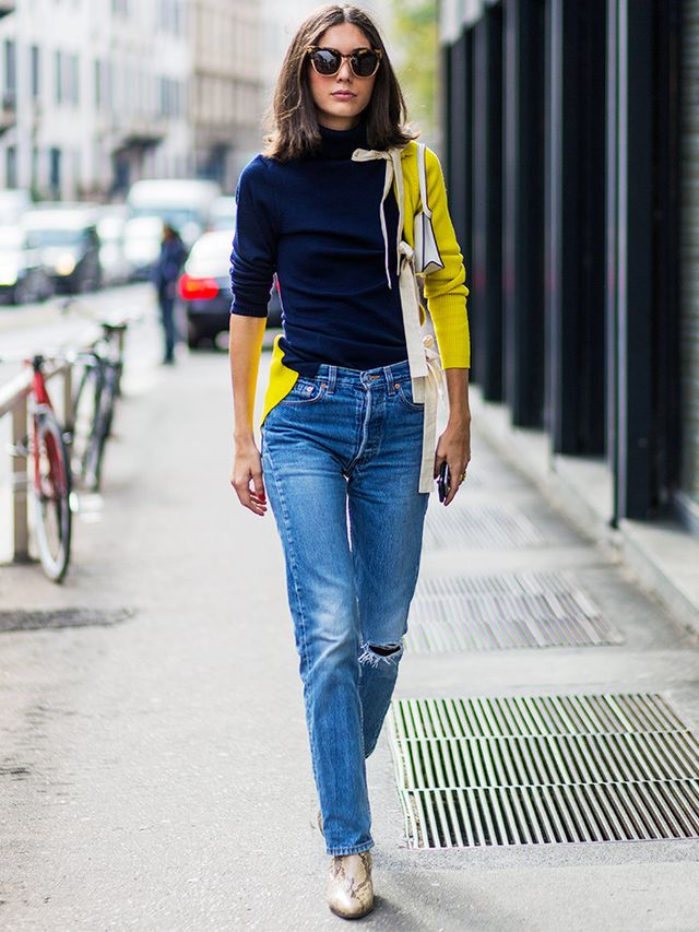 Style Notes: Sometimes all you need in life is a blooming great sweater and some perfectly-fitted jeans. On Diletta Bonaiuti: Jacquemus Bow Detail Jumper(£554). See 33 of the chicest...