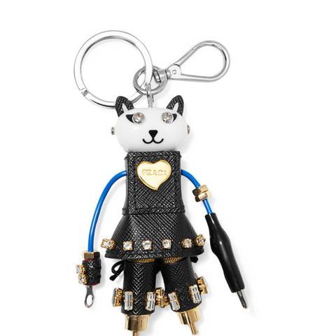 Cat Robot Keychain
