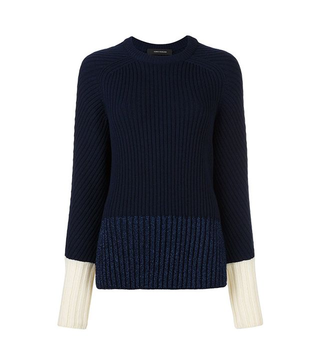 Cédric Charlier Ribbed Jumper