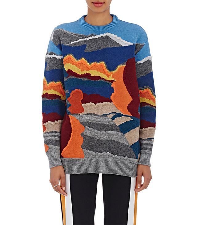 Stella McCartney Landscape Wool Sweater