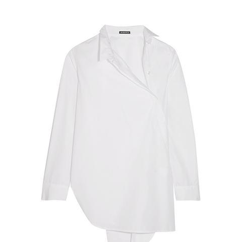 Asymmetric Cotton Shirt