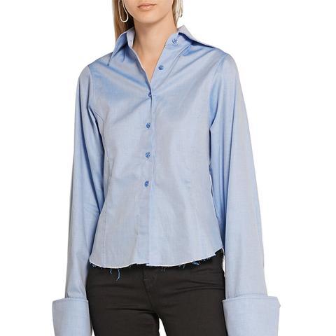 Embellished Cotton-Poplin Shirt