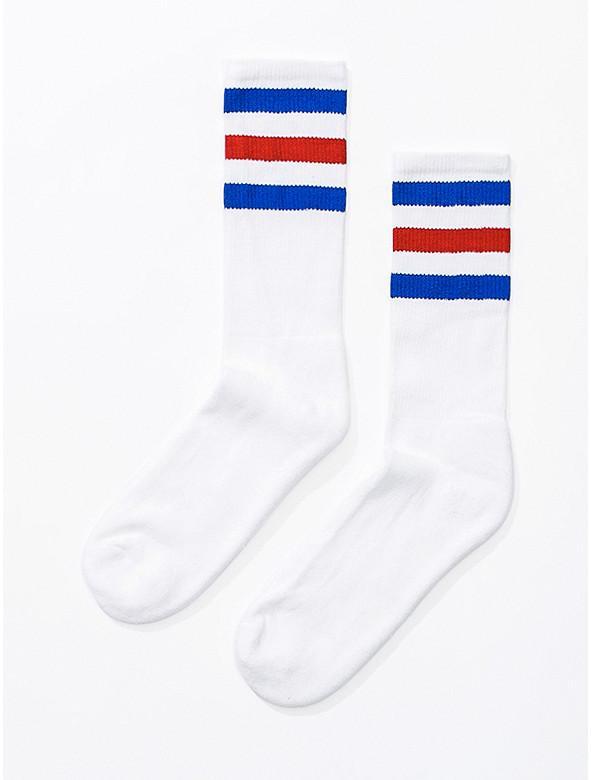 American Apparel Stripe Calf-High Sock