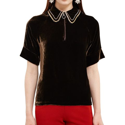Oreyama Zip Polo Shirt