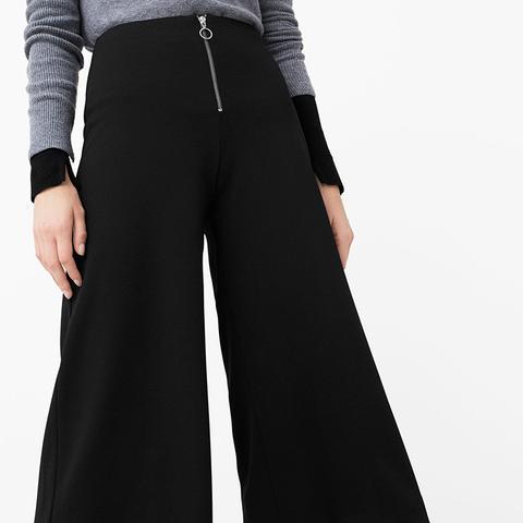 Cropped Zip Pants