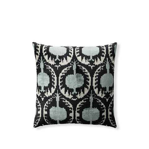 Ikat Silk Velvet Pillow Covers