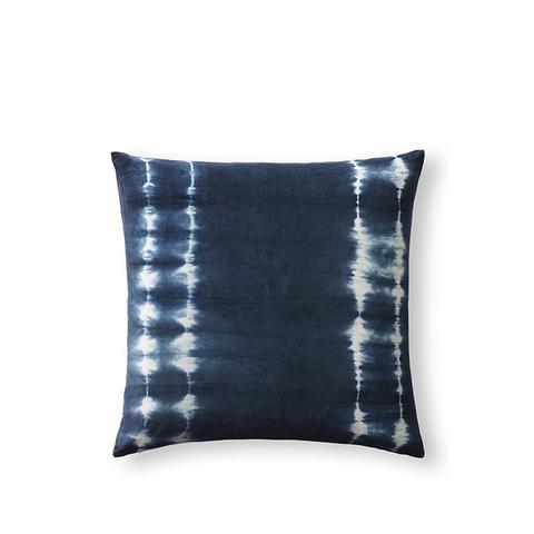 Hand-Dyed Shibori Velvet Pillow Covers
