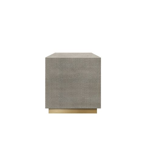Graydon Shagreen Plinth Side Table