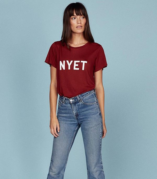 Reformation Nyet Tee