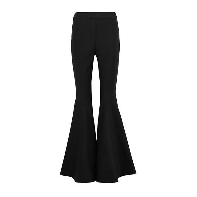 Ellery Sinuous Stretch-Crepe Flared Pants