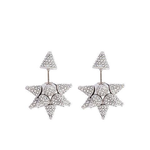 Kalix Double Stud Pierced Earrings