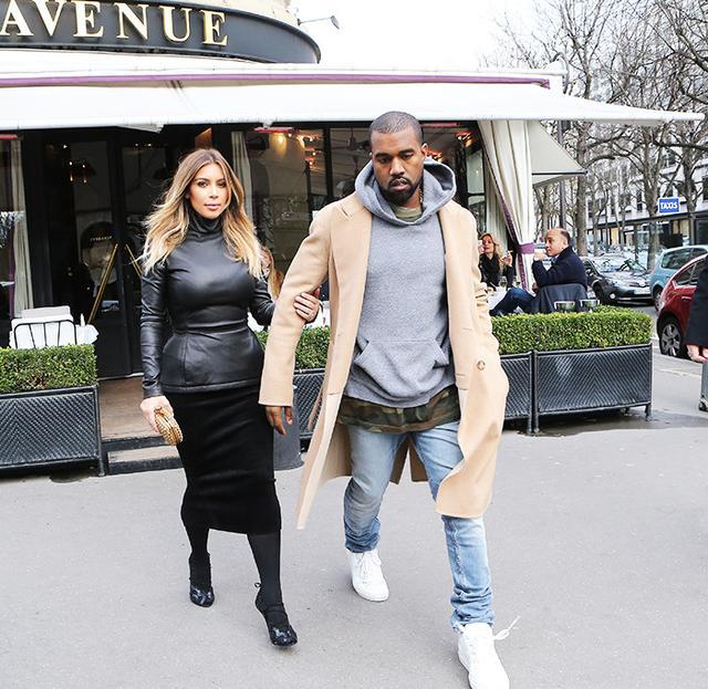 Kim Kardashian West at L'Avenue in Paris