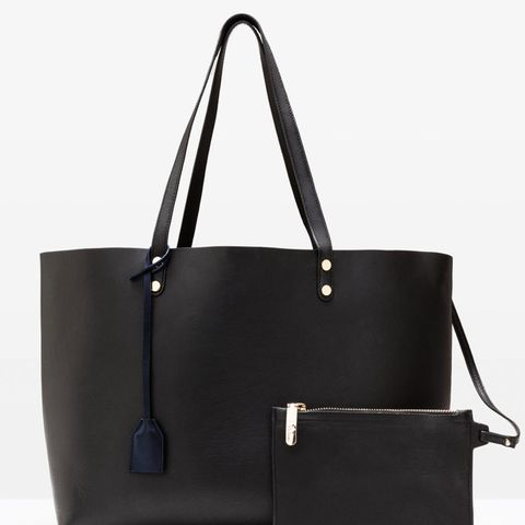 Luxe Leather Shopper