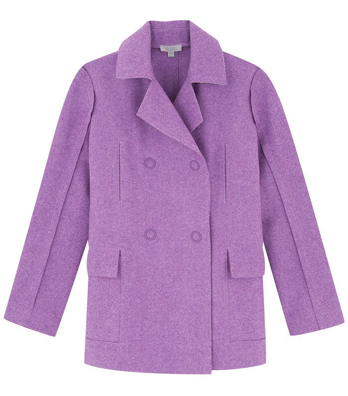 COS Raw-Cut Wool Coat, £150