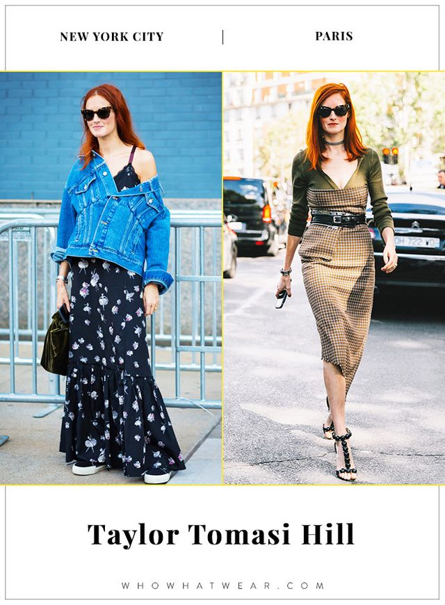 Taylor Tomasi Hill NYFW and PFW Street Style