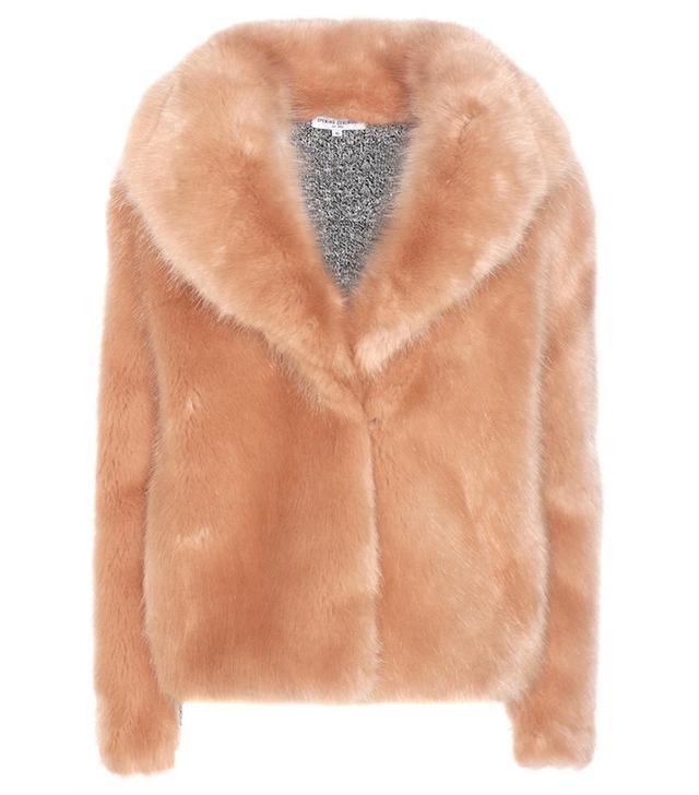 Opening Ceremony Faux Fur Coat