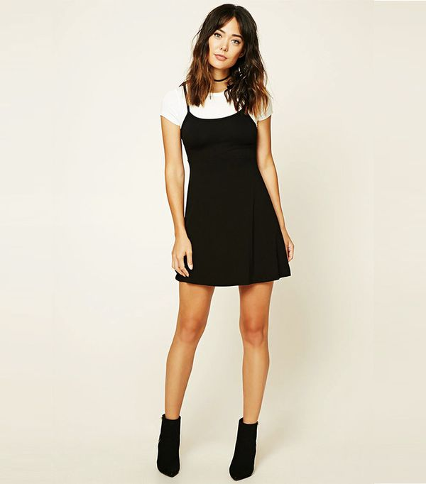 Forever 21 Contemporary Combo Dress