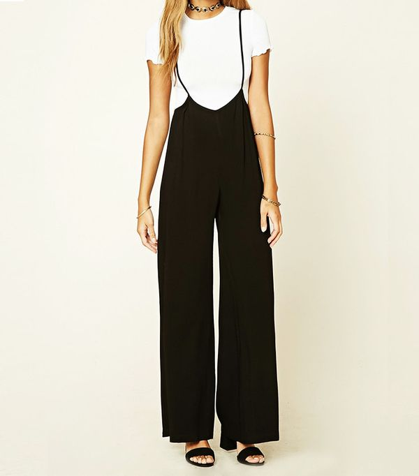 Forever 21 Ride-Leg Cami Jumpsuit
