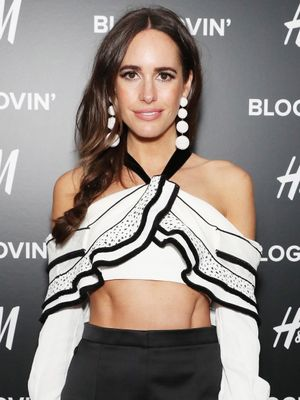 See Louise Roe's Gorgeous Off-the-Shoulder Wedding Gown