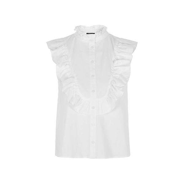 Zara Oversized Blouse with Frill