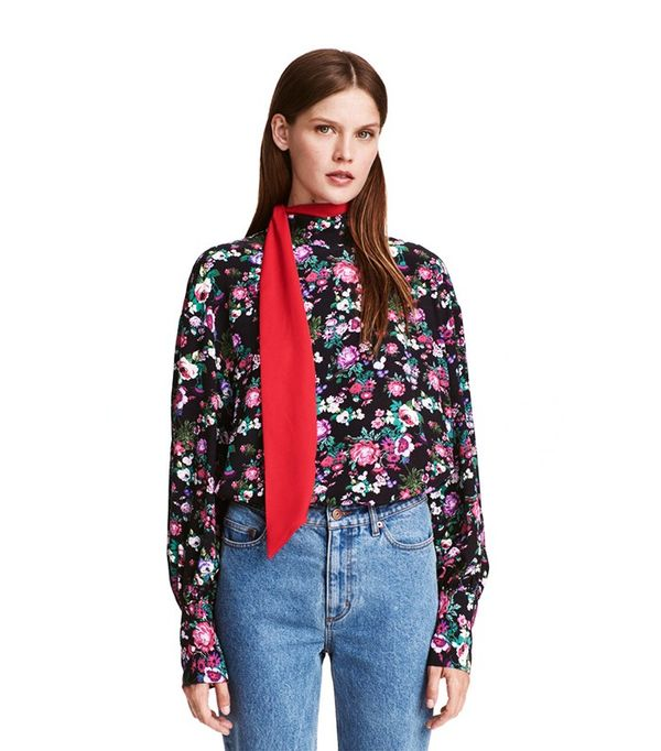 H&M Wide-Cut Blouse