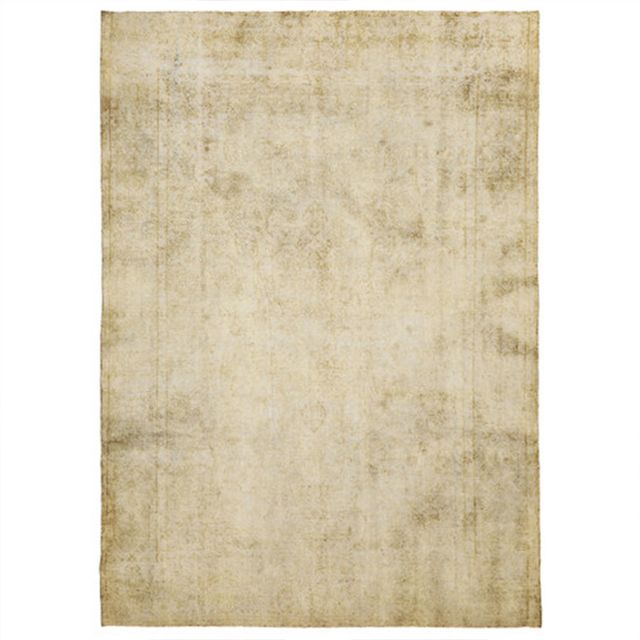 Temple & Webster Vintage Hand Knotted Persian Stonewash Natural