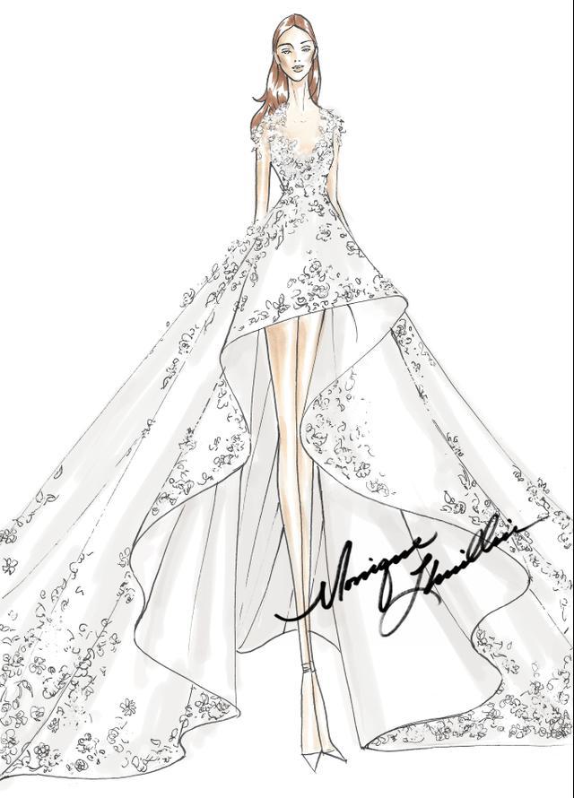 The Sketch: Monique Lhuillier