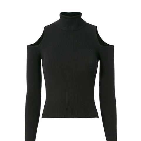 Mervyn Cold Shoulder Turtleneck