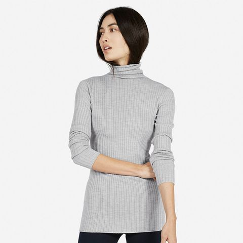 The Ribbed Wool Turtleneck