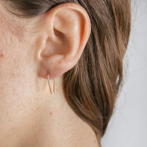 Magnetic Field Hook Earrings