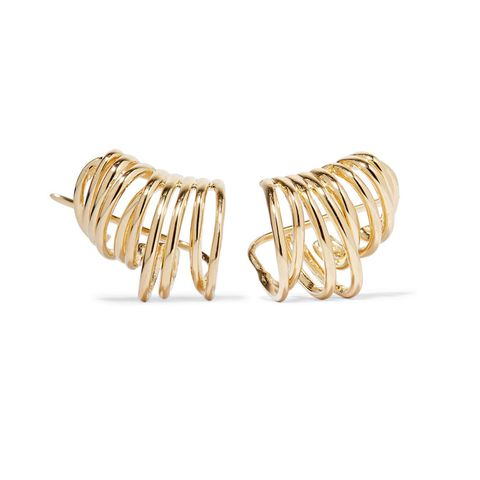 Roxy Gold-Plated Earrings