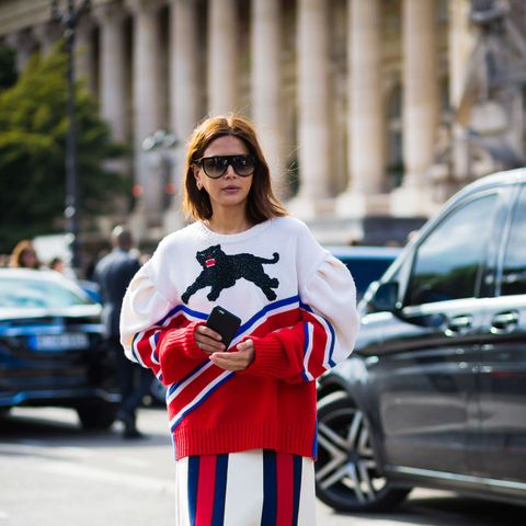 Every Outfit Christine Centenera Wore During Fashion Month