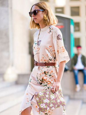 How to Wear Spring's Floral Trend Like a True Fashion Girl