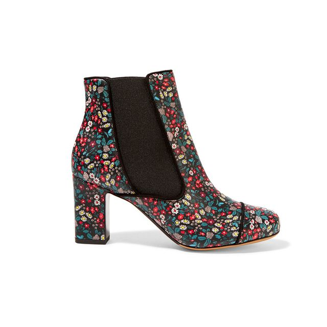 Tabitha Simmons Micki Floral Print Ankle Boot