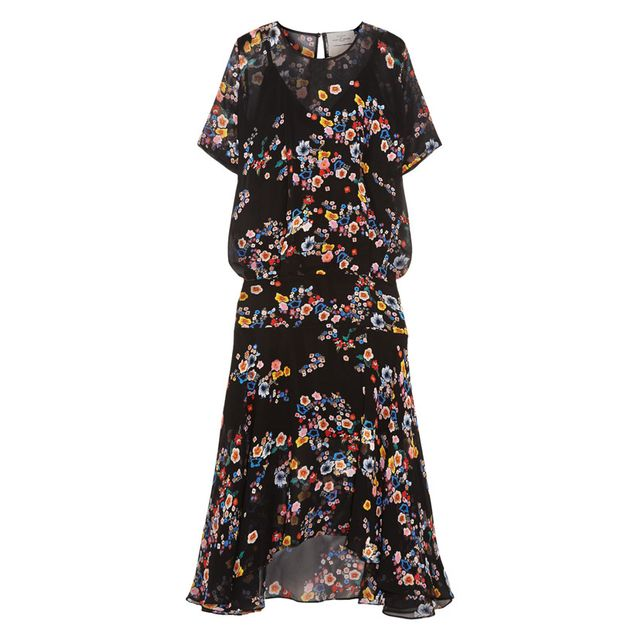 Preen by Thornton Bregazzi Melina Floral Print Mini Dress