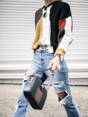 This Blogger Makes a Cool Case for the Statement Sweater