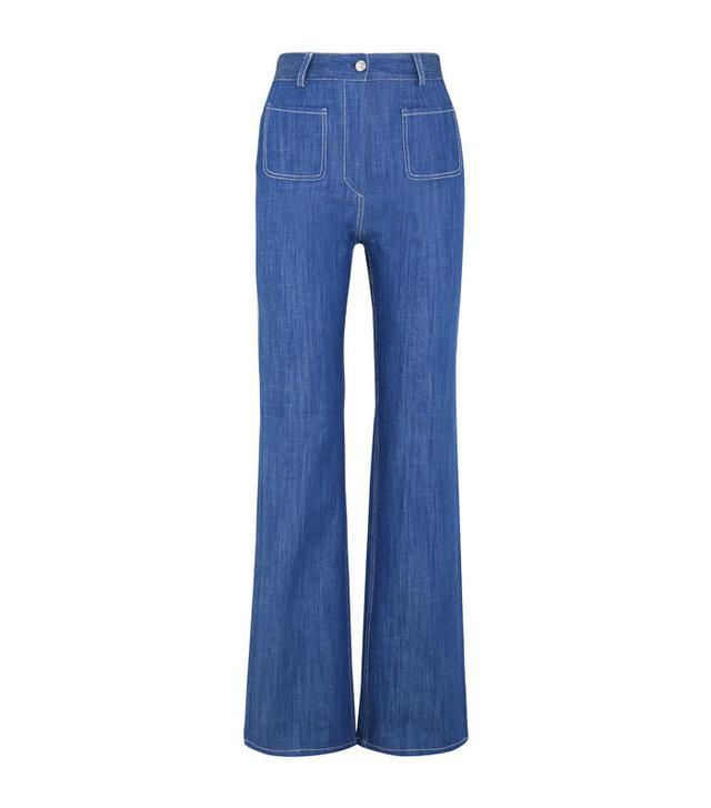 Paul & Joe Erania High-Rise Straight-Leg Jeans