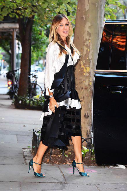 Sarah Jessica Parker New York Chloe Purse SJP Ursula Heels
