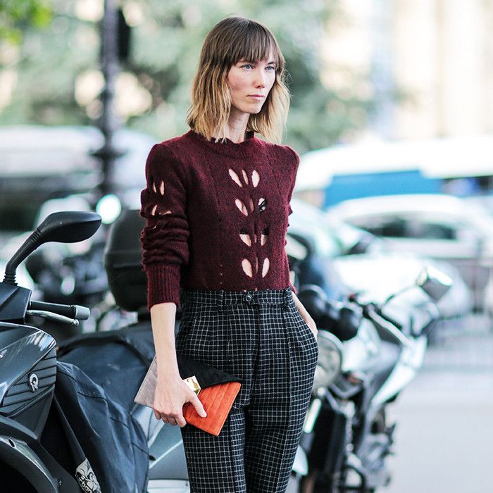 Watch Out! This Classic Sweater Just Got an Alluring Makeover