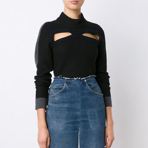 Cut-Out Jumper