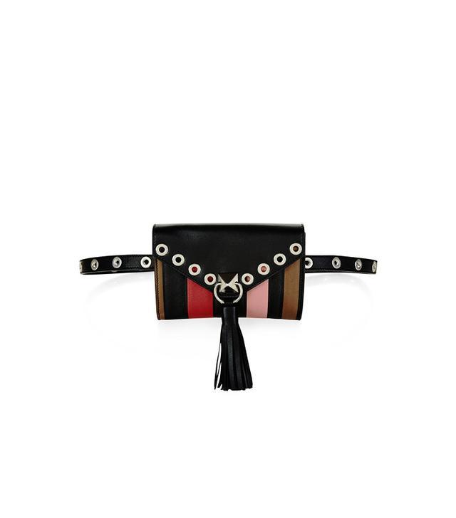Sonia Rykiel Multi Leather Panel Belt Bag