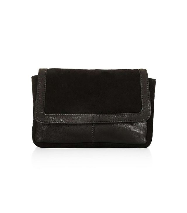 Topshop Leather Suede Bumbag