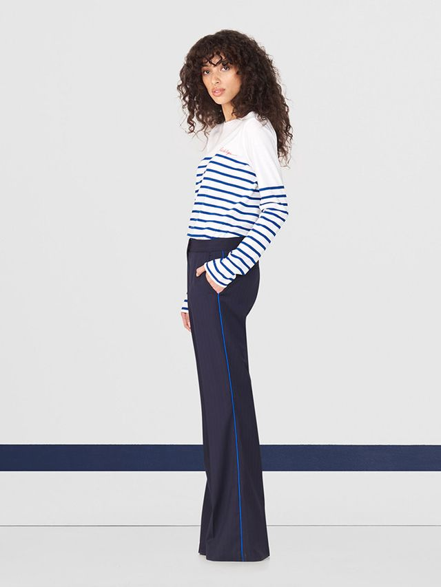 WWW: What can we expect from this new collection VALERIE MACAULAY: Customers can expect stripes on stripes! The fall/winter collection reiterates the idea that stripes are truly a seasonless...