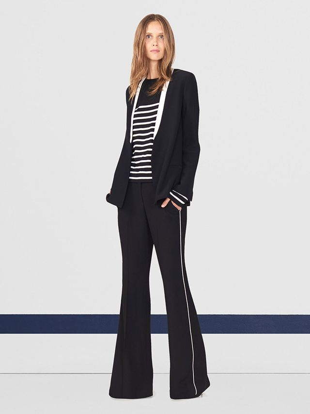 """WWW: What was the top-performing item from your first collection, and do you have a prediction for a star item from the fall assortment? MM: The Crew Tee (""""with la bande"""") was our..."""